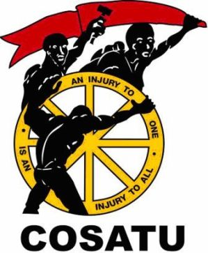 Cosatu's declaration of interests
